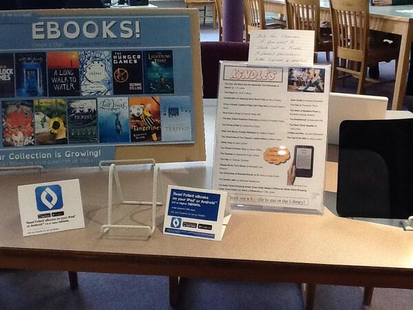 How awesome is it that students can check out Kindles from the EMS library? #vted http://t.co/Yh3IhrCz4L