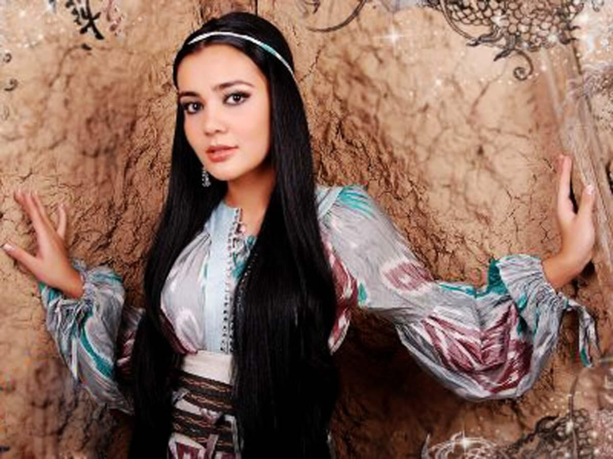 фото узбекской певицы рухшоны того, как