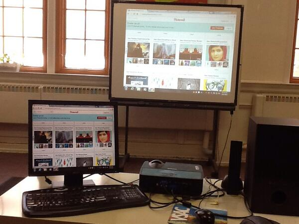 Librarians at Edmunds use pinterest to display newly arrived books #vted http://t.co/0bmgD7TGZ5