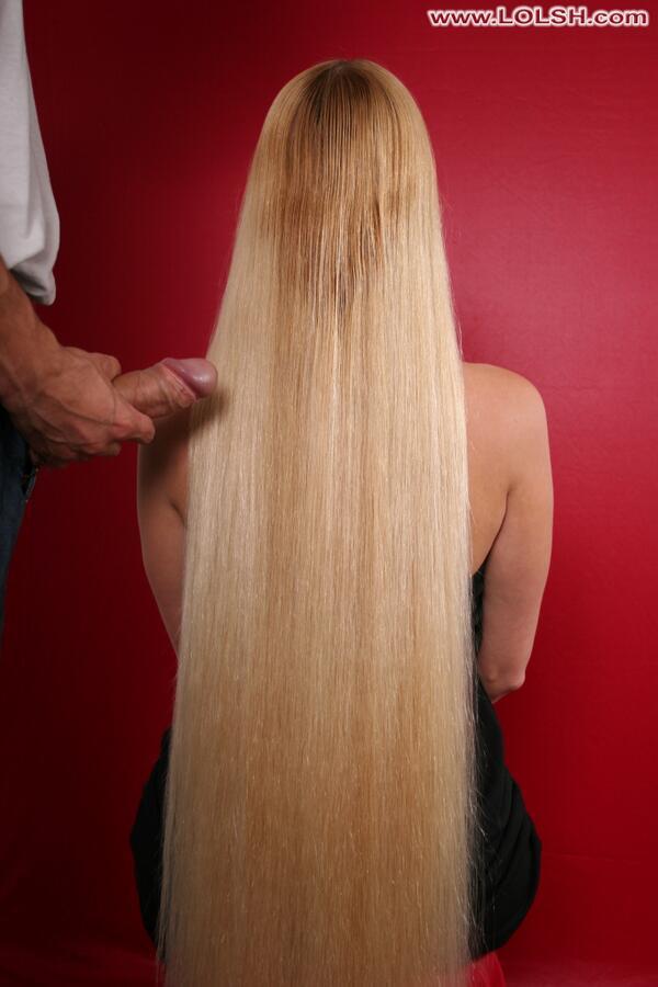 porn Silky hair