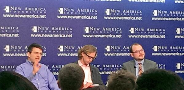 .@mileskimball @justinwolfers @mattyglesias panel - Is the Dollar Doomed #cryptocurrency @FutureTenseNow @NewAmerica http://t.co/ydwwTEgNUh