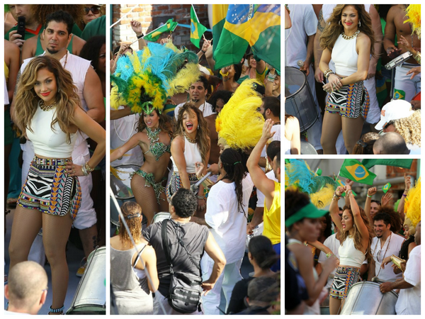 @JLo films the FIFA World Cup Brazil music video in Fort Lauderdale.  #‎WeAreOne #‎WorldCup http://t.co/Z1CHfegHLL