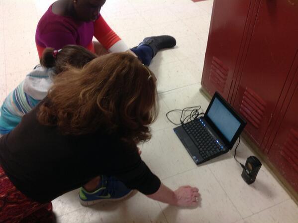 ...With Mrs. Botte's help in analyzing the data #vted http://t.co/I25SdHVtfJ