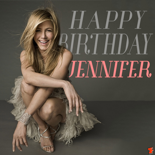 """Fandango On Twitter: """"Happy Birthday To Jennifer Aniston"""