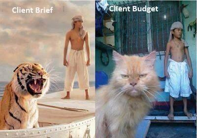 Why your client most often doesn't get a roaring tiger. http://t.co/6lcl75zZNI