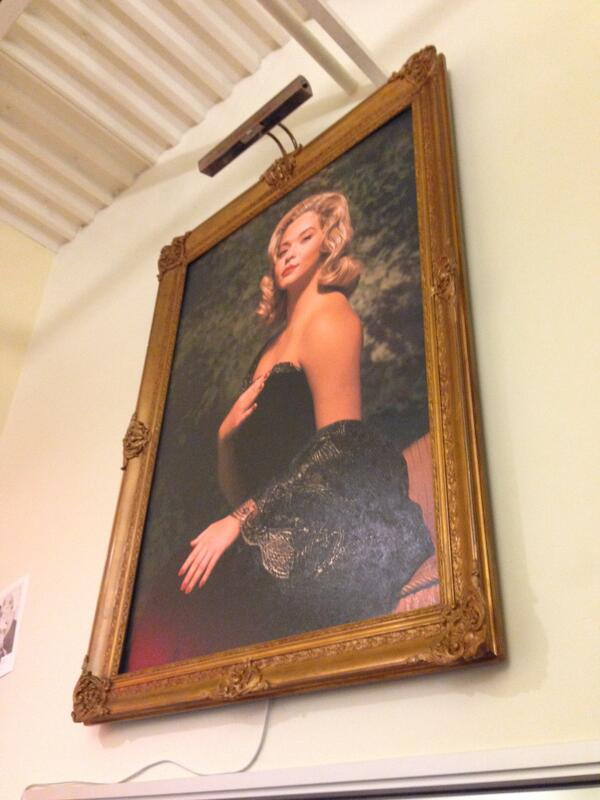 #PLLChat That painting now hangs in our office, watching over the writers. http://t.co/57mmm4UYGq