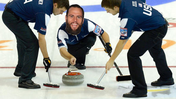Curling + Olympics + @shaycarl=epic awesomeness. I even found a pic! @MakerStudios http://t.co/Oao55FvrBl