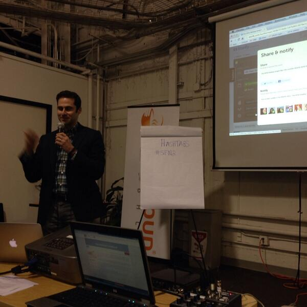 Very meta: Watching @burtherman create a @storify during @SFTech4Good meetup. #sfn2 http://t.co/sMTHArCs3E