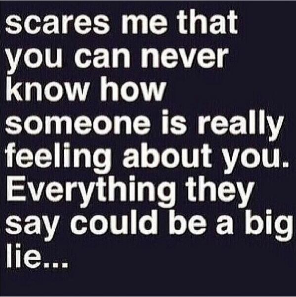 One of my biggest fears