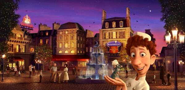 This Summer we continue to develop #DisneylandParis by opening our 60th attraction, inspired by #Ratatouille #DLPAG http://t.co/onyJClLqmF