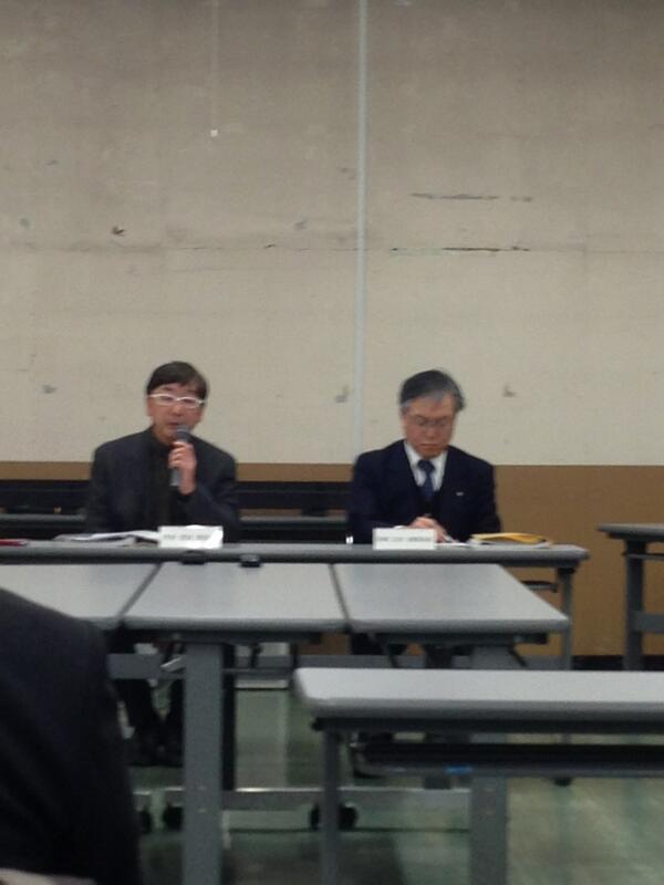 釜石市民ホール•情報交流センター公開ヒアリングの結果発表です。審査会はかなり時間がかかっていました。激論だったとのこと。 最優秀は、ヨコミゾマコトさんです。 http://t.co/PQMMjg8ReT