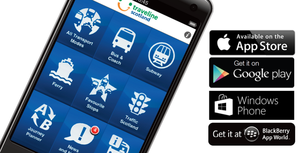For public transport and @TrafficScotland trunk road info, try our Traveline Scotland app: http://t.co/VN88S4phfC http://t.co/L8VnlgYobi