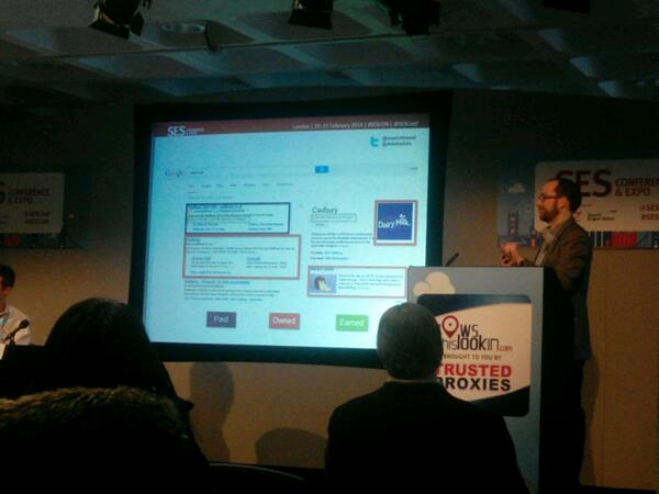 Paid, owned and earned are converging #SESLon http://t.co/FhxzG6ZNpo