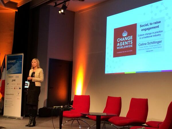 @CelineSchill dir. stakeholder engagement at Sanofi Pasteur, board mb Change Agents Worldwide @chagww #e20s http://t.co/OQsIYYvHcg