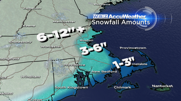 "Drum roll please...this is what you've all been waiting for!  I have my 6"" line near Rt. 128 / I-95. #WBZ http://t.co/zonLfnFfHw"