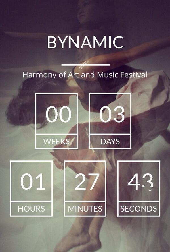 BINUS Harmony of Art and Music Festival in 3 more days! http://t.co/LIMDMgADd4