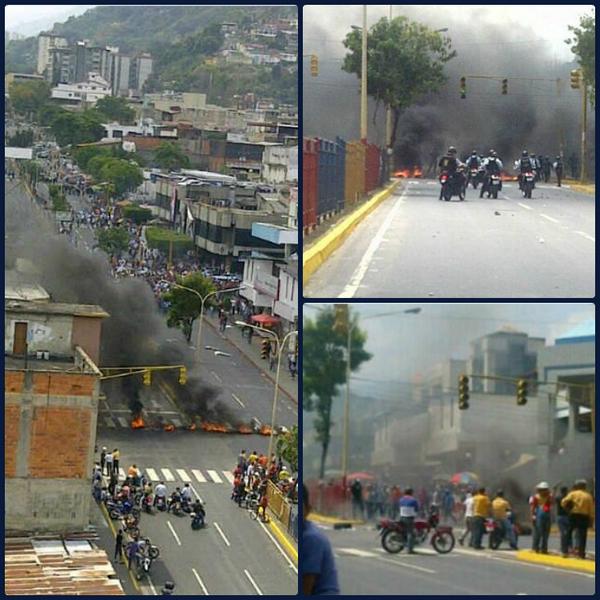 Reportan en redes que la GNB reprime a manifestantes en Valera. No hemos comprobado la veracidad de la información http://t.co/Uz5Dp5ub4t