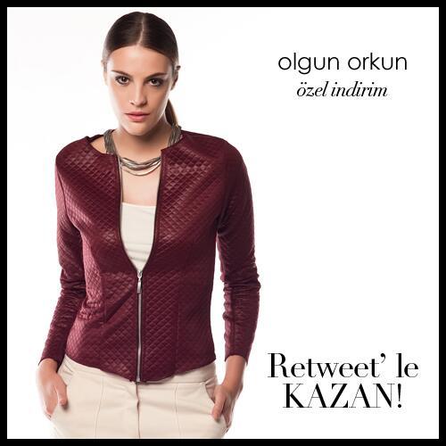 ✰ Olgun Orkun Özel İndirimlerle @Trendyol 'da! RT yapan 1 kişi görseldeki ceketi kazanıyor! http://t.co/81QSigaurX ✔ http://t.co/FgQ7edvVIa