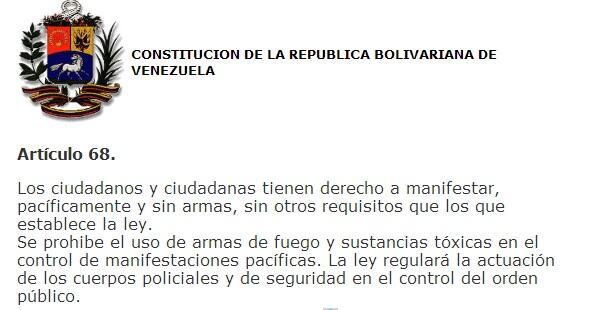 ! RT @cquevedo: Aquí está el permiso que necesitan para protestar:  http://t.co/K2zWftmyUt