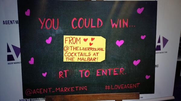 Our next #LoveAgent prize comes from our friends at @theliverpoolmal! http://t.co/SULKbSzJOS