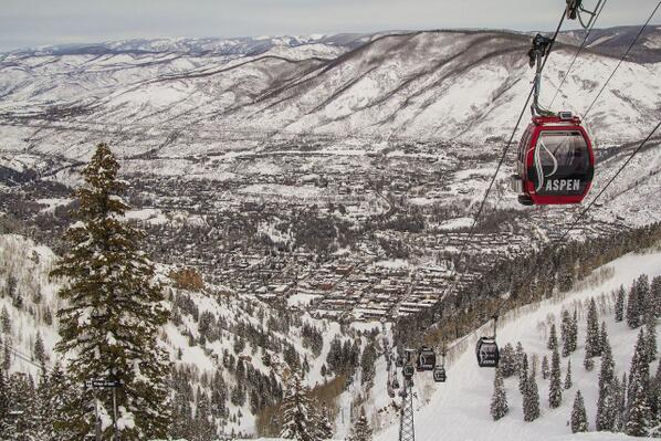 We will NEVER get sick of this view @AspenSnowmass! #Aspen http://t.co/0yeGwNzb8X