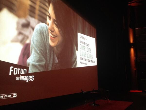 #GainsbourgMC au forum des images !! http://t.co/Ed5Dn6789c