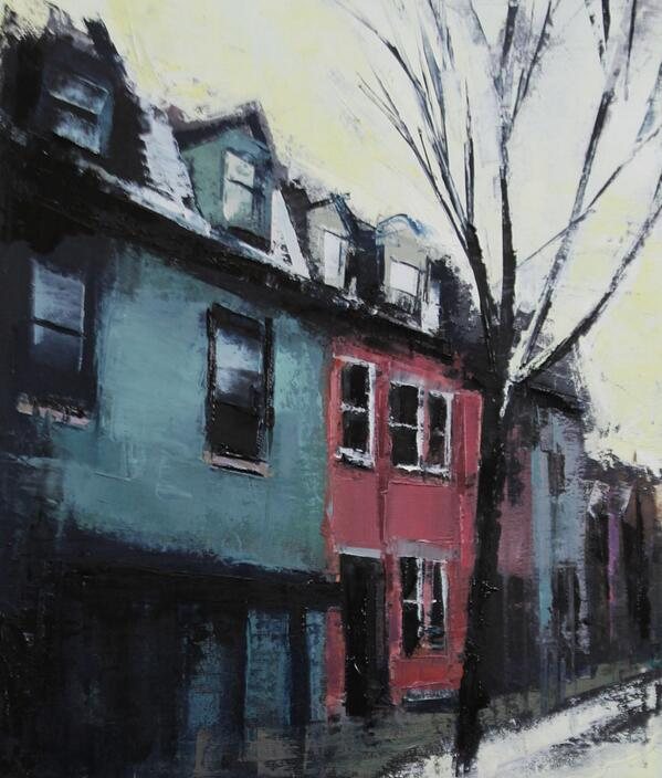 Rue Plessis by artist Jeremy Price @cjeremyprice is being featured on #Montreal ArtBomb today! http://t.co/nRACwEY1gy http://t.co/daVBCymZco