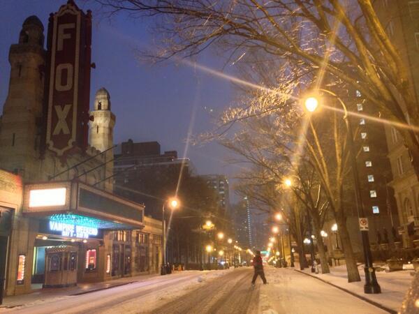 Peachtree street #midtown #atlanta http://t.co/Hc9cC1pXlD