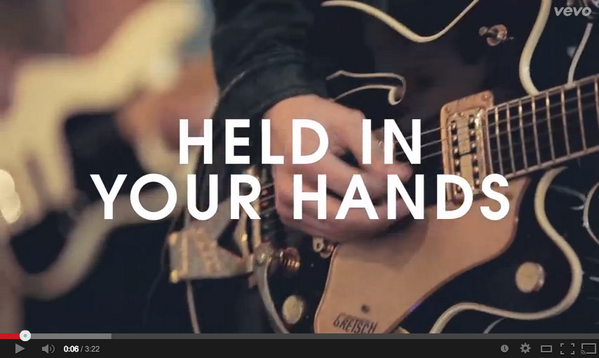 "Our new single ""Held In Your Hands"" is posted at http://t.co/Jzxs0x7hX4. RETWEET if you're as excited as we are! http://t.co/FgFbLQJeV8"