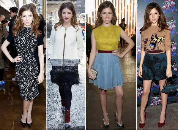 So chic! RT @glamour_fashion: Outfit inspiration: @AnnaKendrick47's best #NYFW looks so far http://t.co/1ivxoC3NbR http://t.co/d6zEJ92hDg