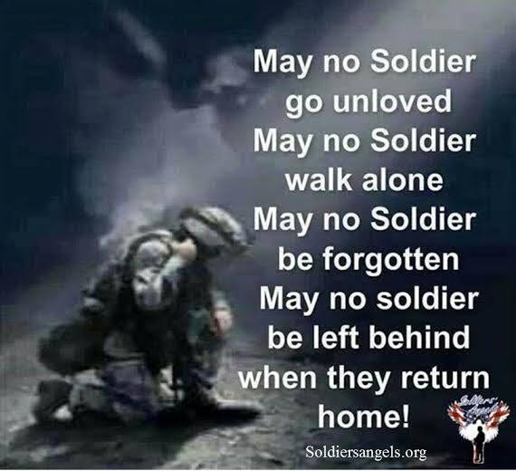 May no Soldier be forgotten! #Military #Veteran #SupportOurTroops http://t.co/0GfRHMBRuM
