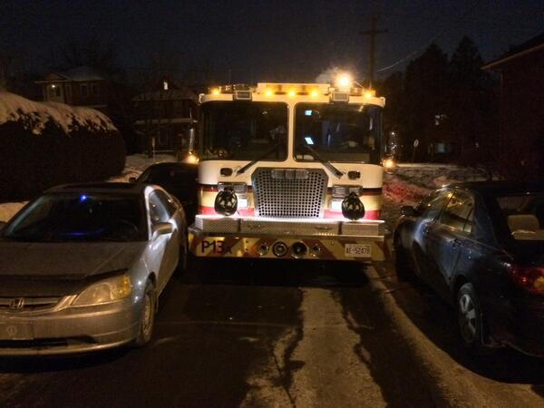 Please leave enough space for emergency vehicles to pass when you park on the street. #TightSqueeze http://t.co/4Sfaq94GDb
