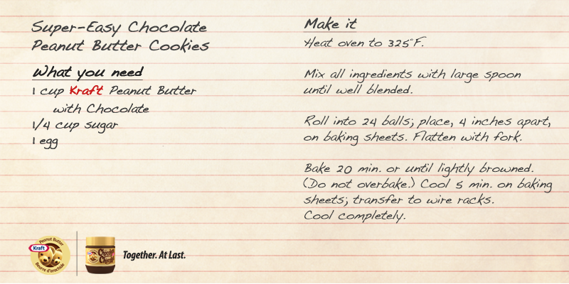 Twitter / kraftcanada: Our classic 3-ingredient cookie ...