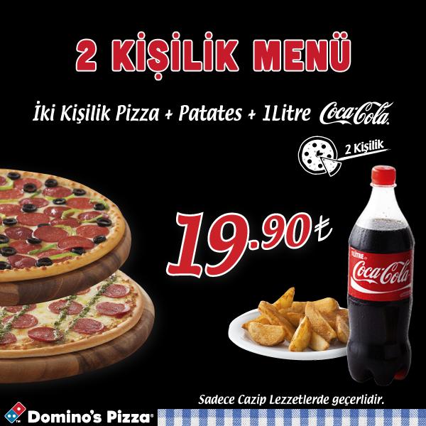 Dominos Pizza Tr On Twitter Dominostan Yeni Kampanya 2 Kişilik