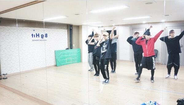 Picture Bts Making Dance Practice At Skool Luv Affair