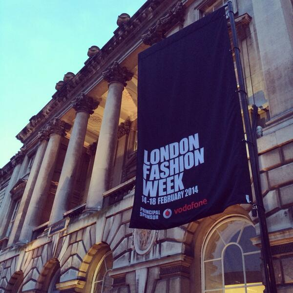 The fashion flags are flying! 1 day to go #LFW http://t.co/Nxusfo7axx