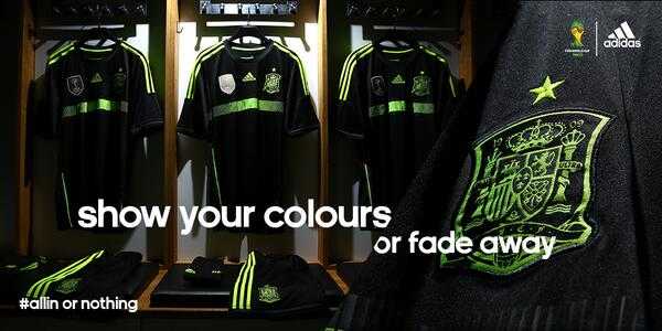 Official! Adidas reveal Spain, Germany & Russia away kits for the 2014 World Cup