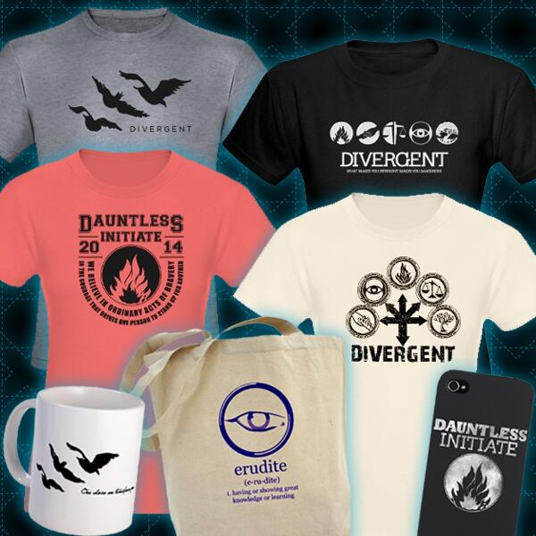 Purchase DIVERGENT Merchandise at CafePress Now ...