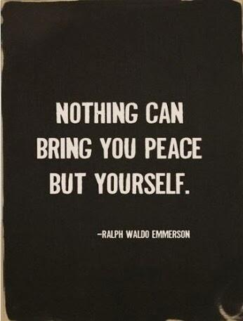 Twitter / JimConnolly: The secret to peace of mind ...