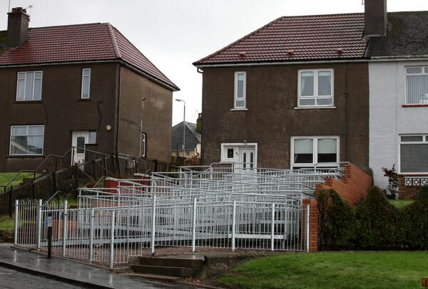 Mum with disabled daughter campaigns for wheelchair ramp. This is what the council built…. http://t.co/AOAYumohzJ http://t.co/iE0VOWEXWM
