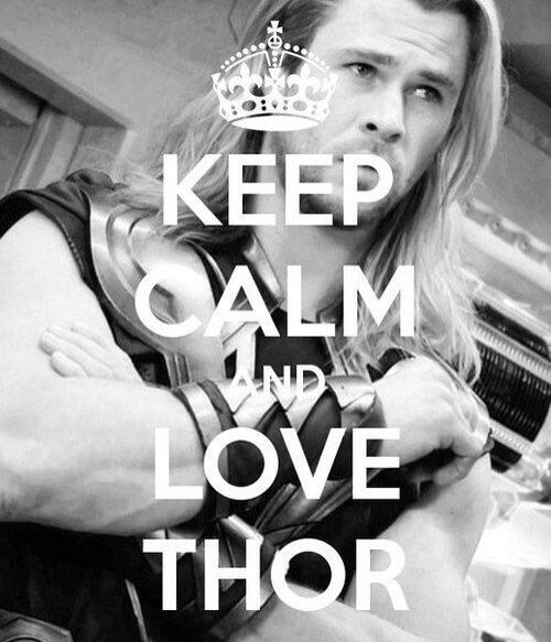 Don't have to tell me twice! Happy Thor's Day! #Thor #obsessions http://t.co/u2zZtUFmuq