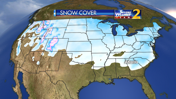 Check it out: Snow on the ground in 49 states come on FL, look what you're missing #StormWatchOn2 http://t.co/U7TPzMfVhJ
