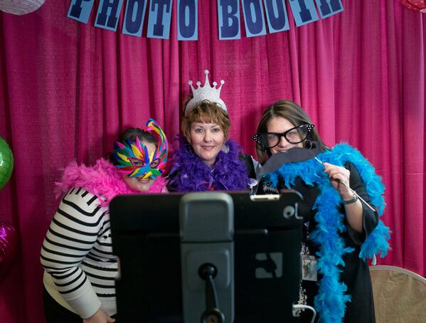 The photo booth next to the gift shop at the #wkddradiothon is open and ready for you to make a self portrait. http://t.co/3RZmjwHEFk