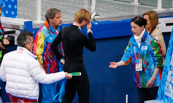 Touching Moments at Sochi 2014