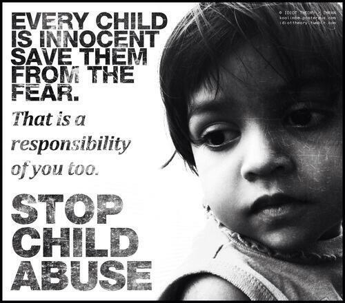 It's thursday, support #StopChildAbuse just a tweet, every week helps! @helpspreadthis ~ http://t.co/SVBZLegMCa