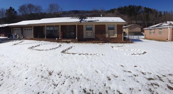 What I did with my snow #vols #vfl @Vol_Football http://t.co/SlcMqUAU3A