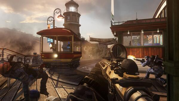 Call Of Duty On Twitter Rt If Youre Turning Bayviews Trolley