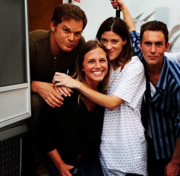 Final days on the set of #Dexter #tbt http://t.co/2541KPJ9E9