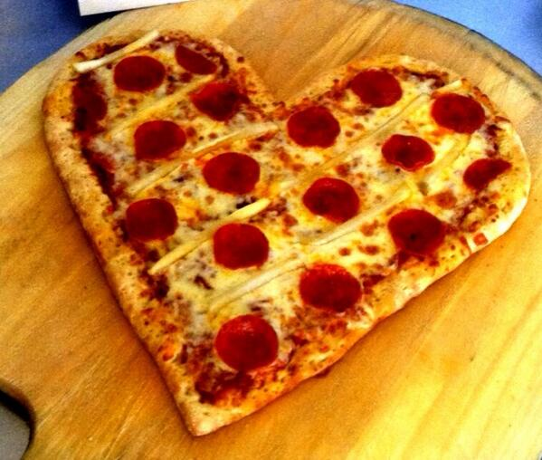 How about a heart shaped pizza for Valentines? #txst #smtx http://t.co/SKjnn7mbMs