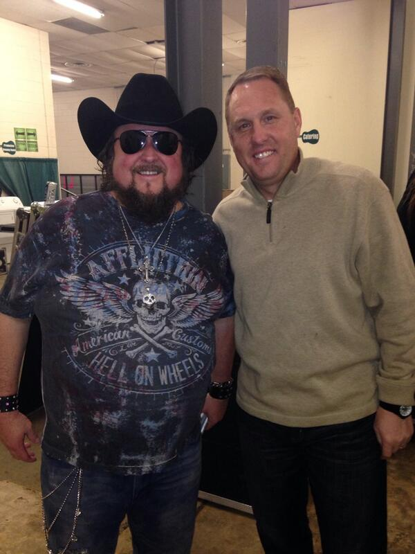 Magnificent Hugh Freeze On Twitter Enjoyed Meeting Colt Ford He Loves Download Free Architecture Designs Rallybritishbridgeorg